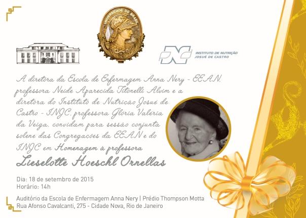 Convite Lieselotte